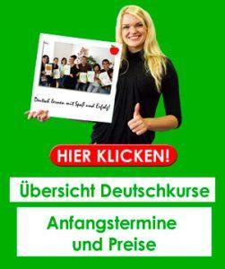 Deutschkurse in Winterthur - Termine und Preise
